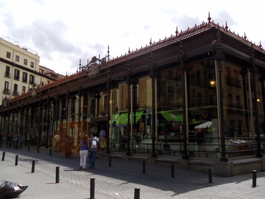 Mercarto de San Miquel, Madrid