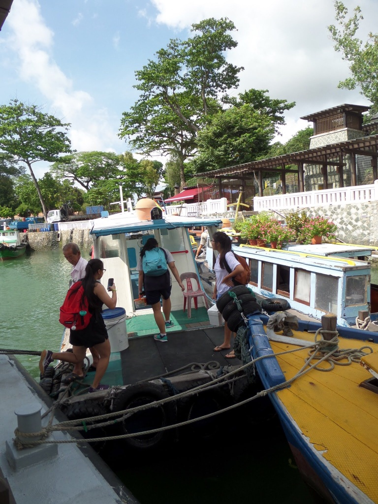 Bum Boat to Pulau Ubin