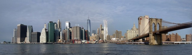 View of Manhattan from the East River State Park