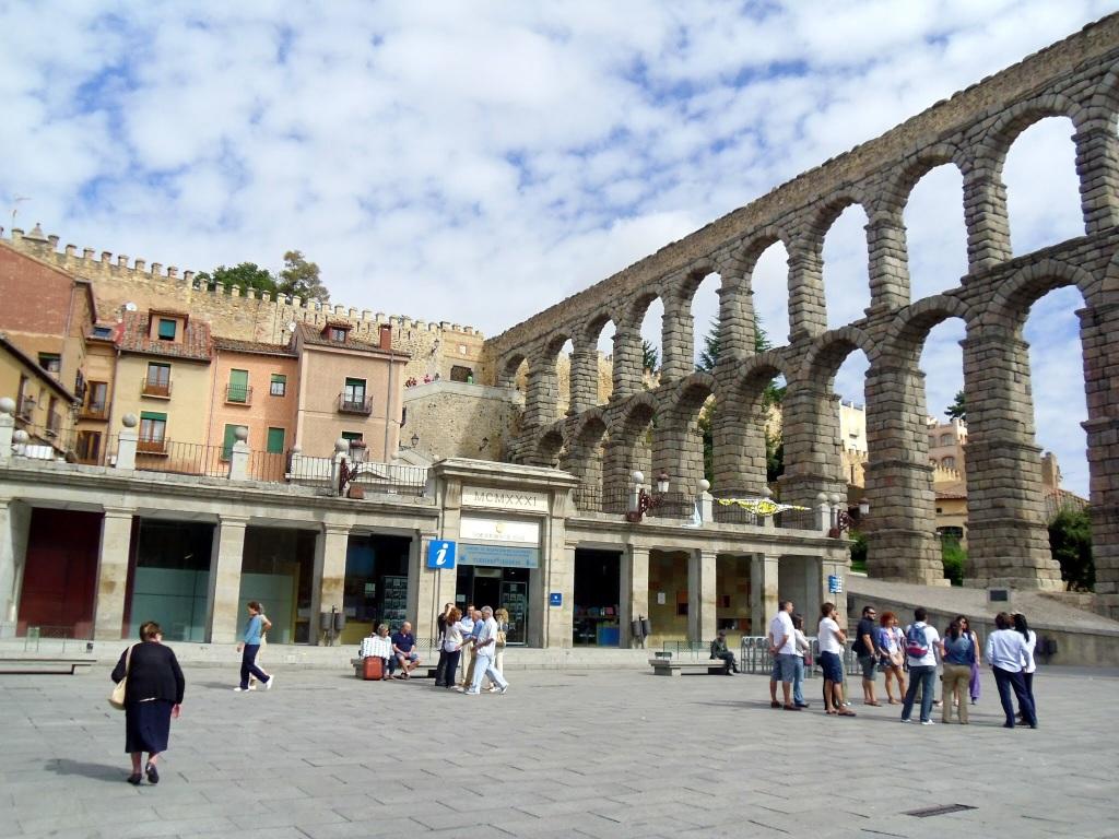 The Roman Aqueduct Segovia