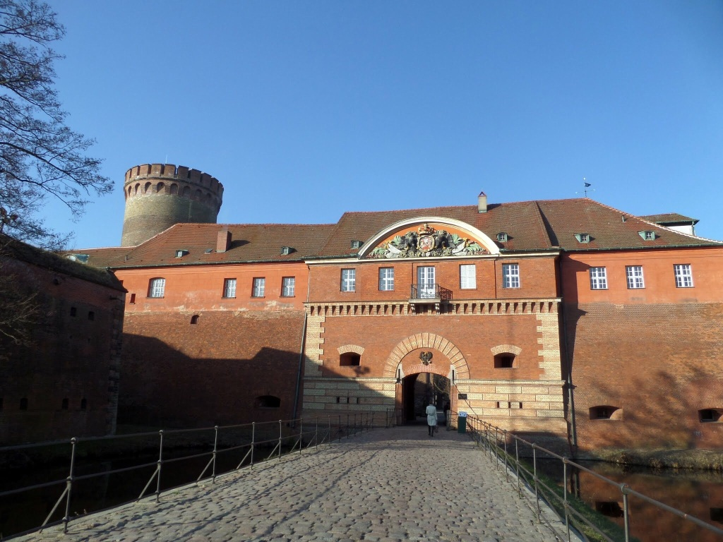 The surviving fortress at Spandau