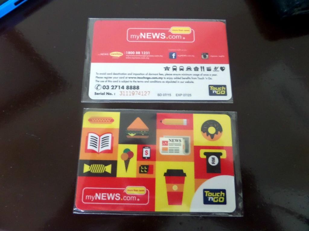 Touch n' Go Travel Card Kuala Lumpur