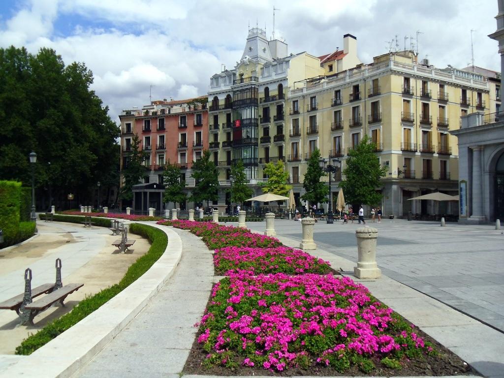 Upper Palace Gardens, Madrid