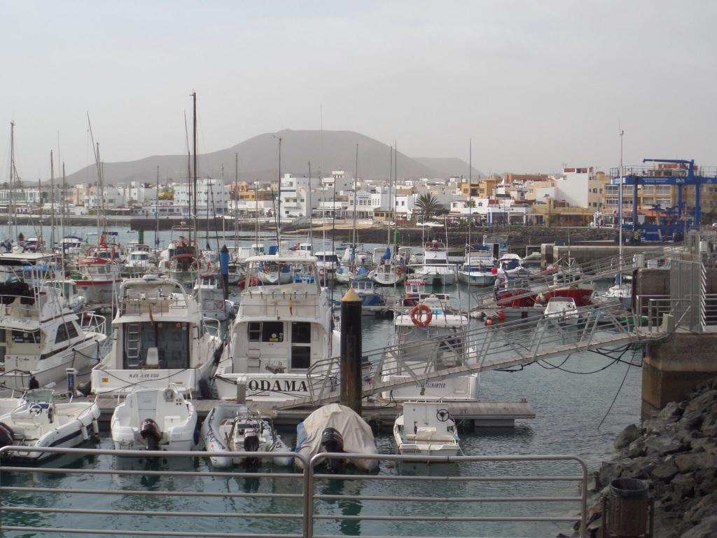 Corralejo harbour