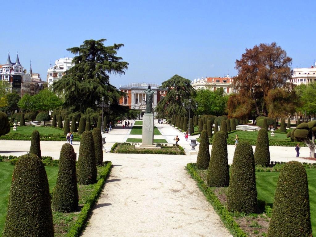 Retiro Gardens, Madrid