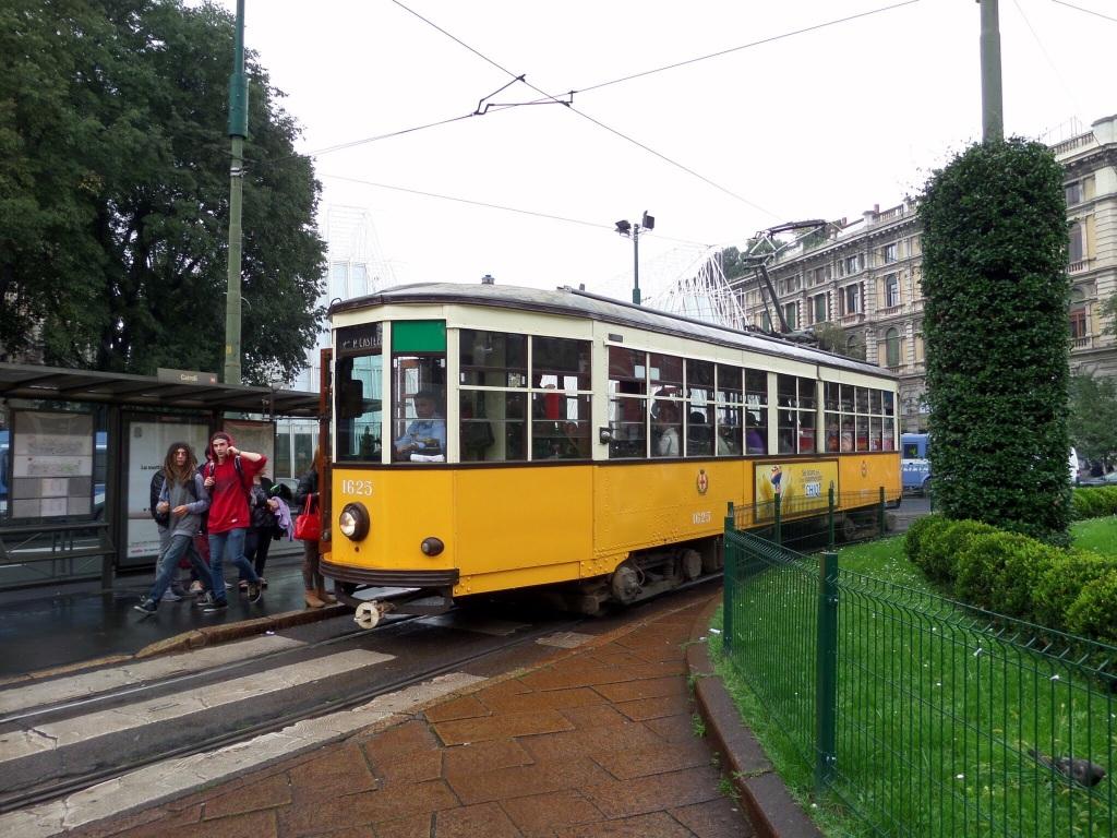 Old tram, Milan