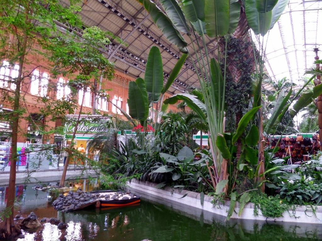 Atocha Station Rainforest