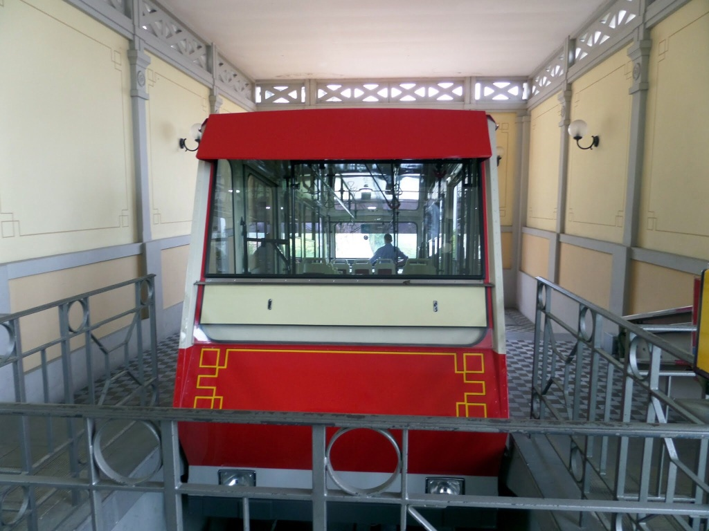 Funicular to Old Town Bergamo