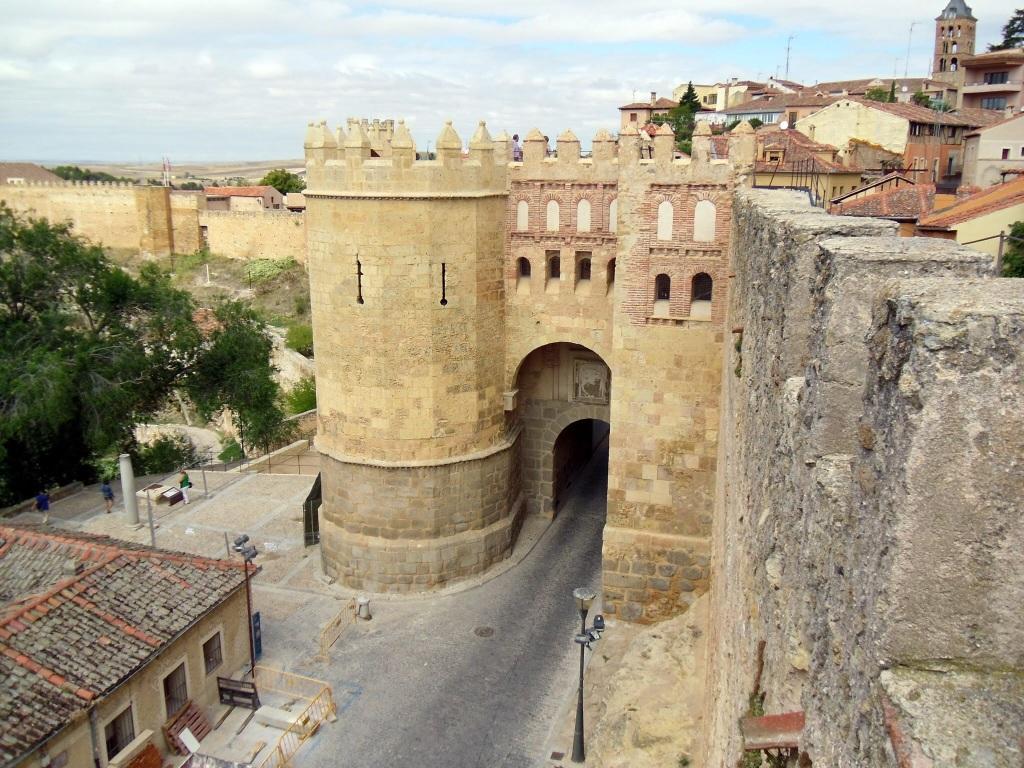 Segovia city gate