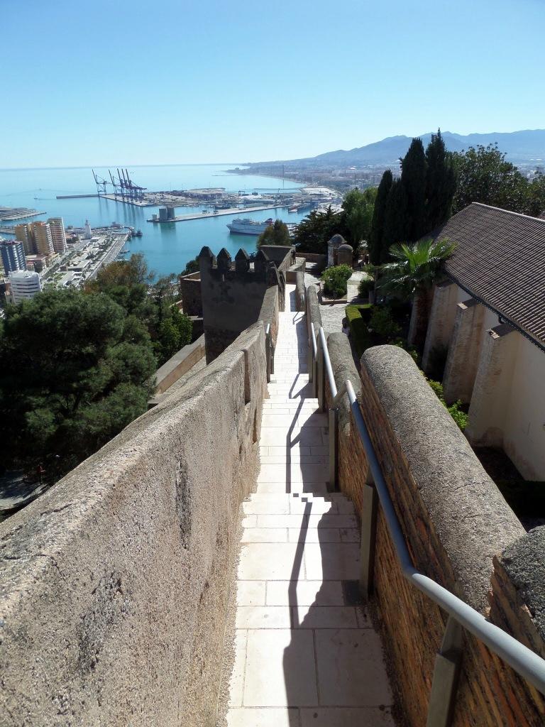 Malaga city wall