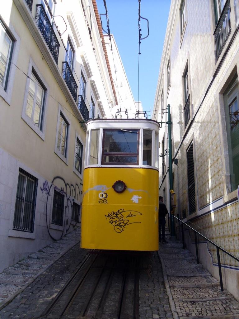 Funicular tram, Lisbon