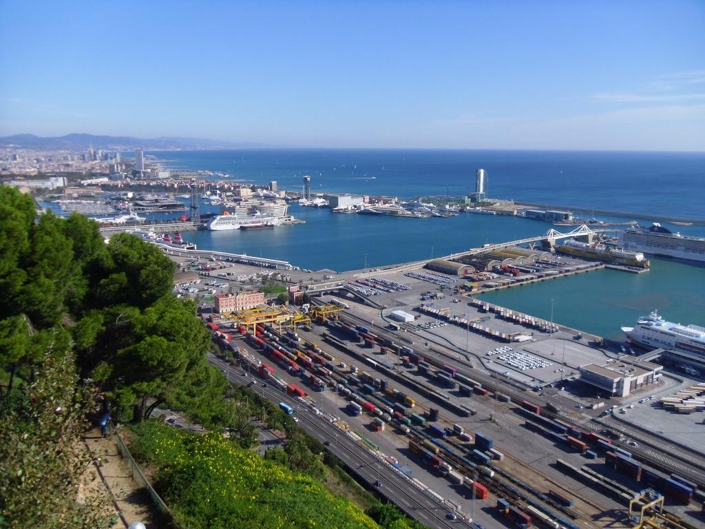 View from Castell de Montjuic, Barcelona