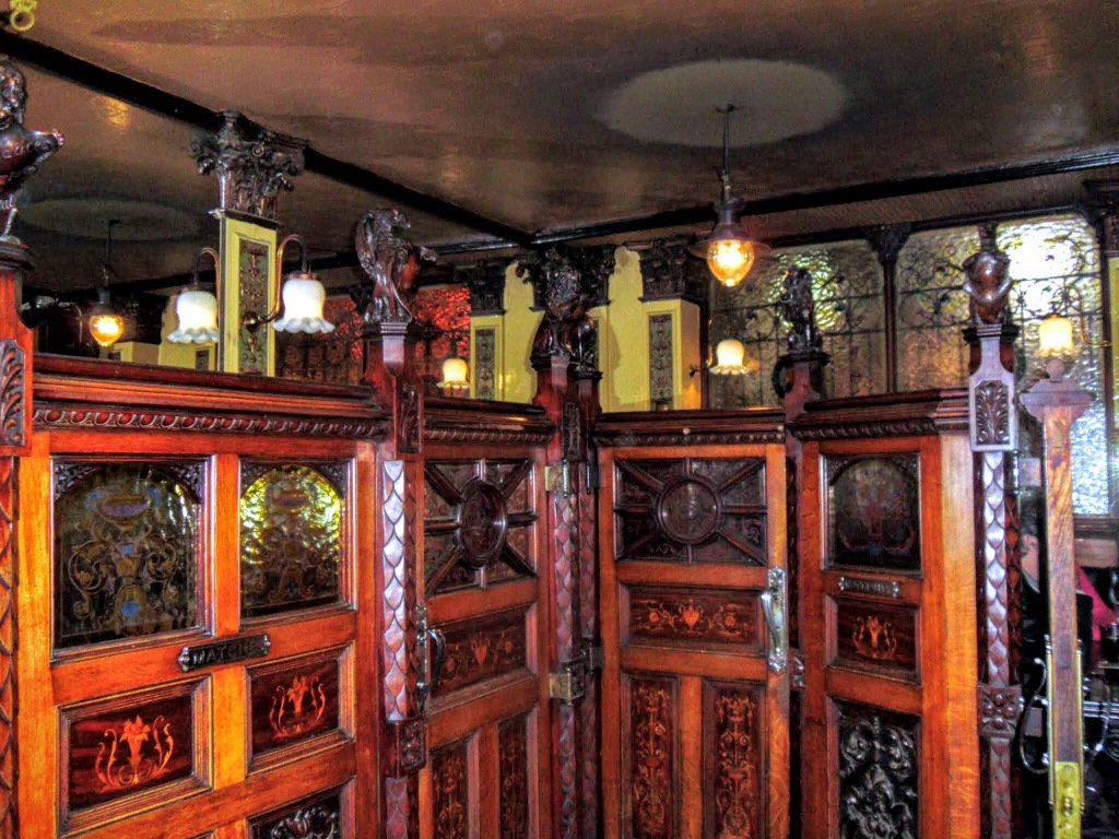 Interior of The Crown Public House, Belfast