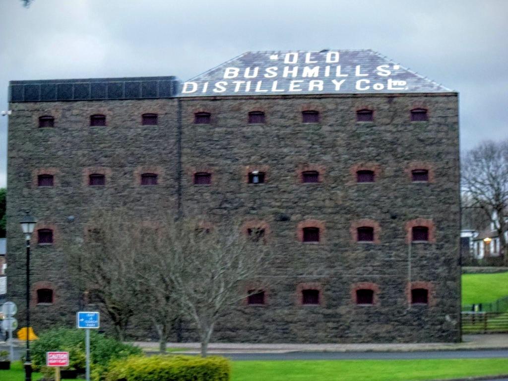 Old Bushmills Distillery Building