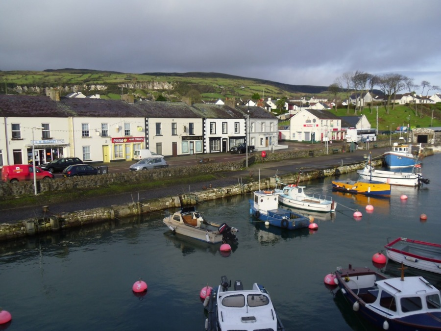 Carnlough seafront, Northern Ireland