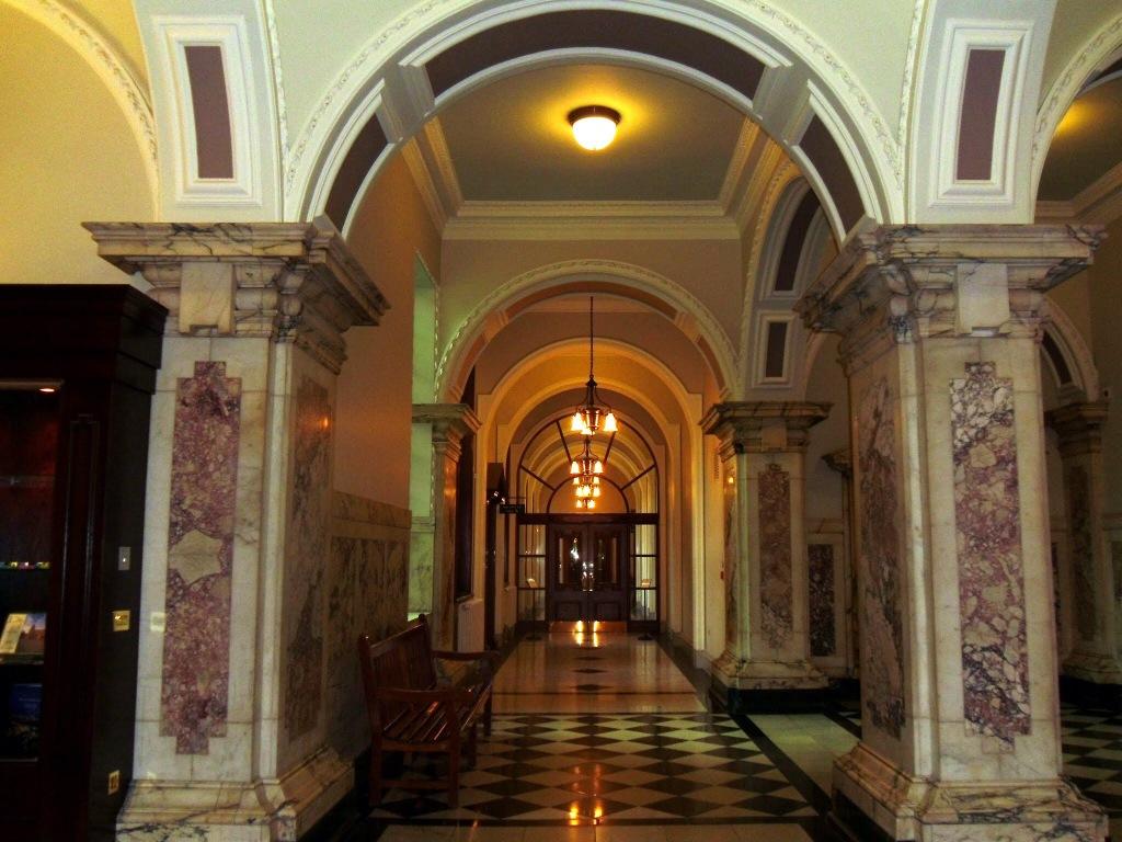 Interior of Belfast City Hall