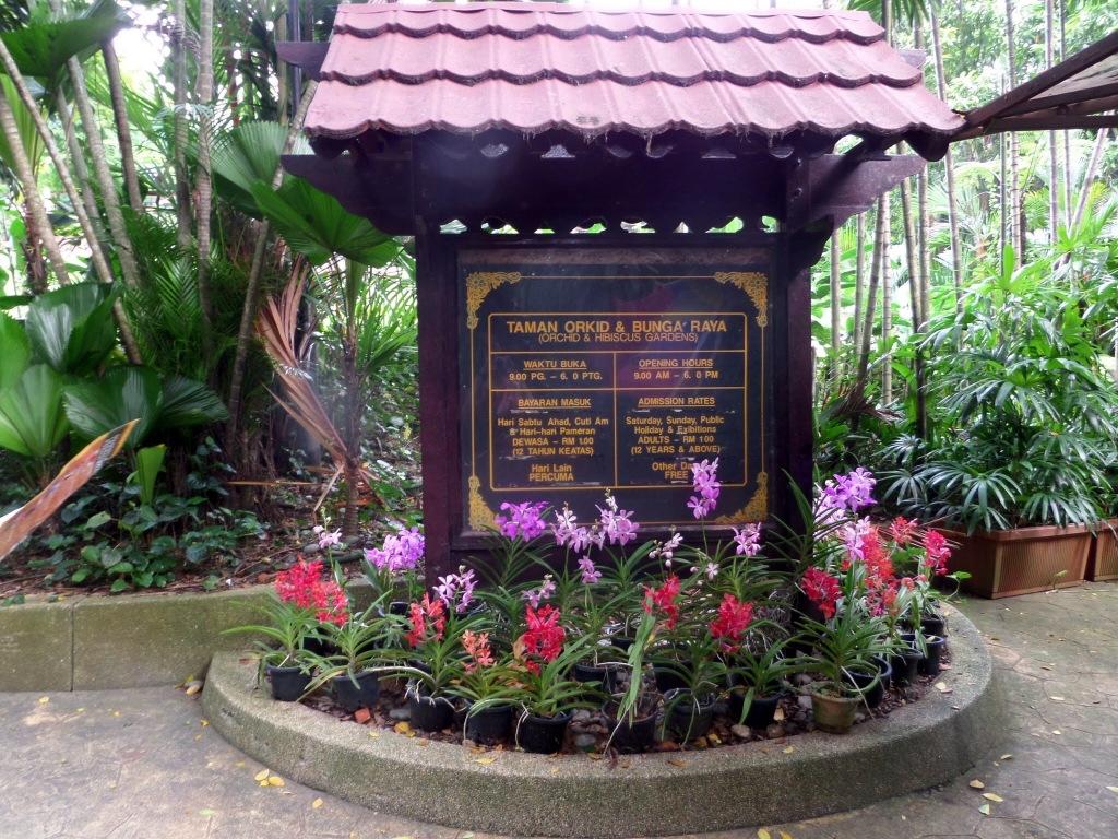 National Orchid Garden, Kuala Lumpur