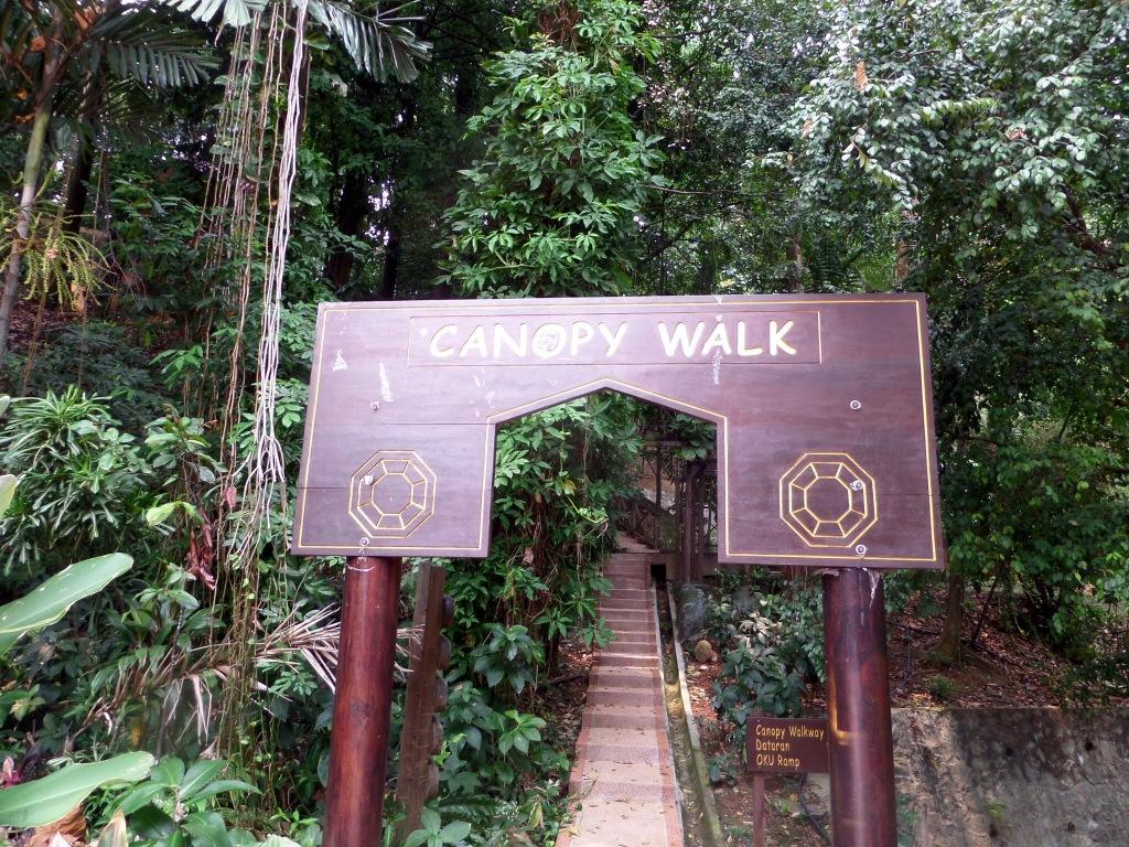 Canopy Walkway entrance, Kuala Lumpur