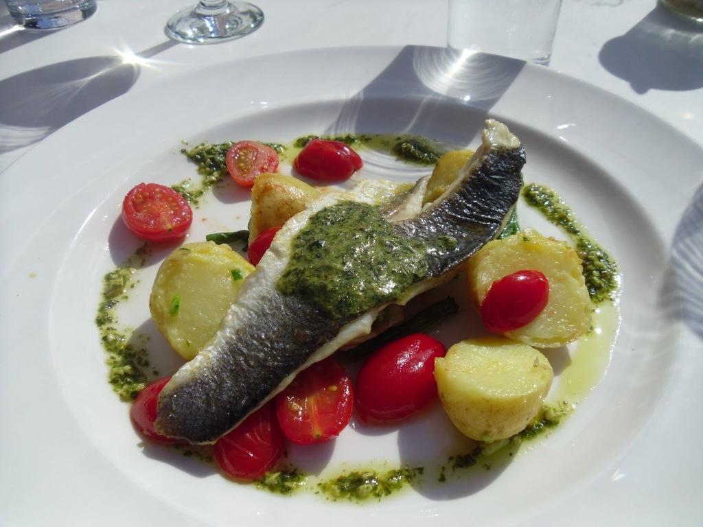 Lunch in M & S Grafton Street, Dublin