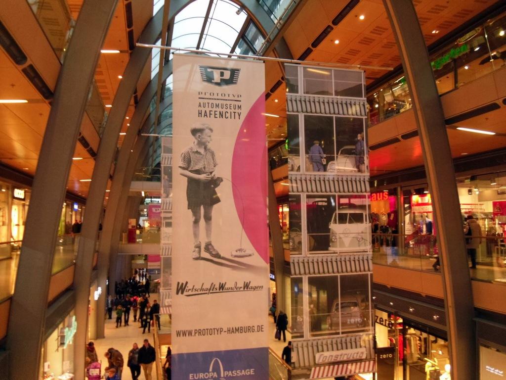 Europa Passage Mall, Hamburg