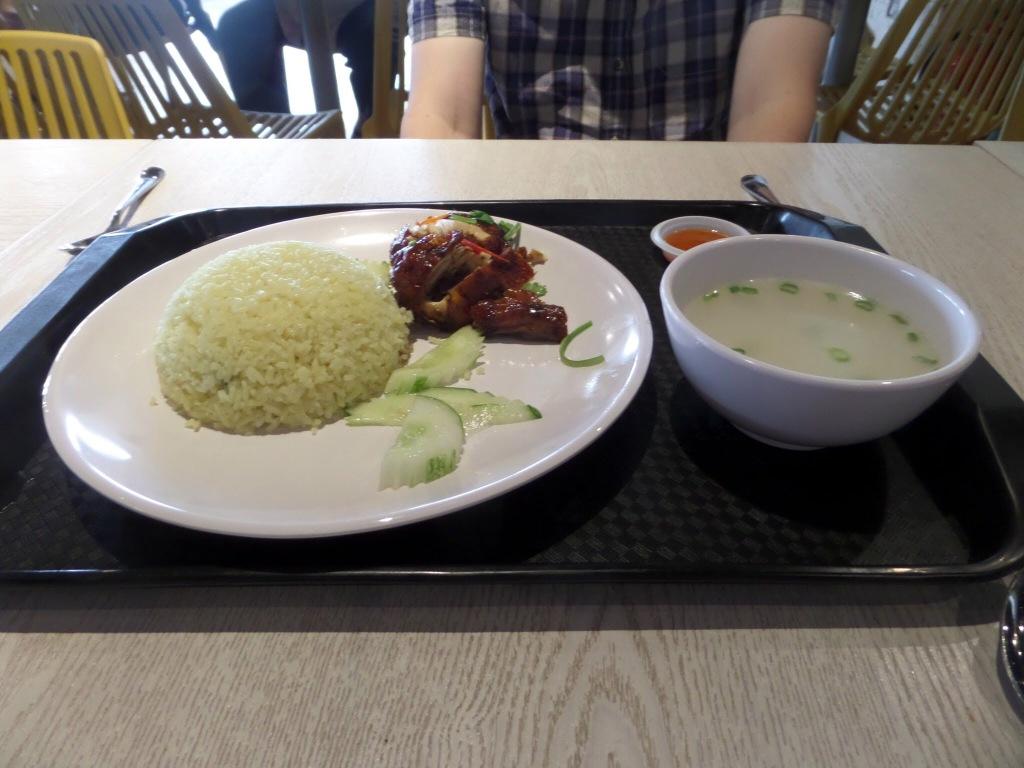 Mitsubishi Outlet Park meal