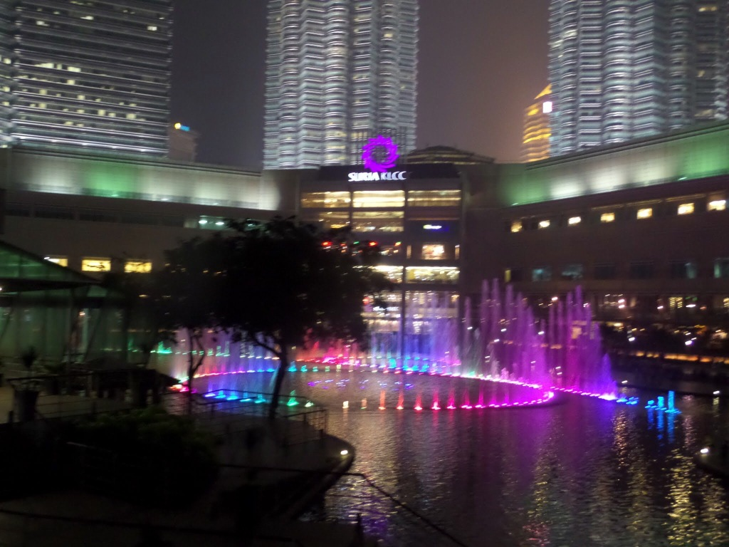 Fountain, Light and Sound Show KLCC Park