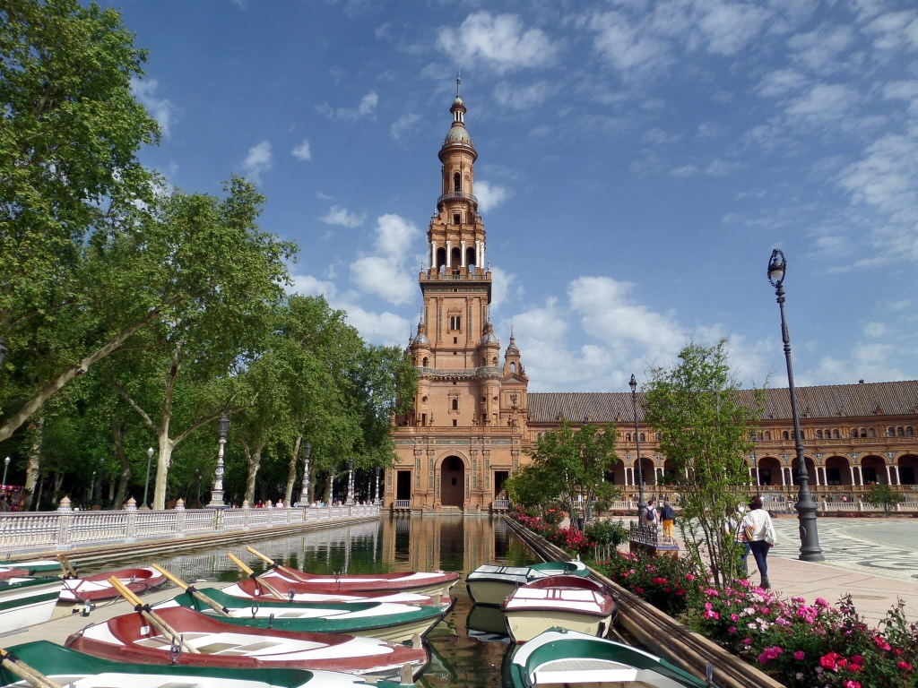 Placa de Espanya, Seville