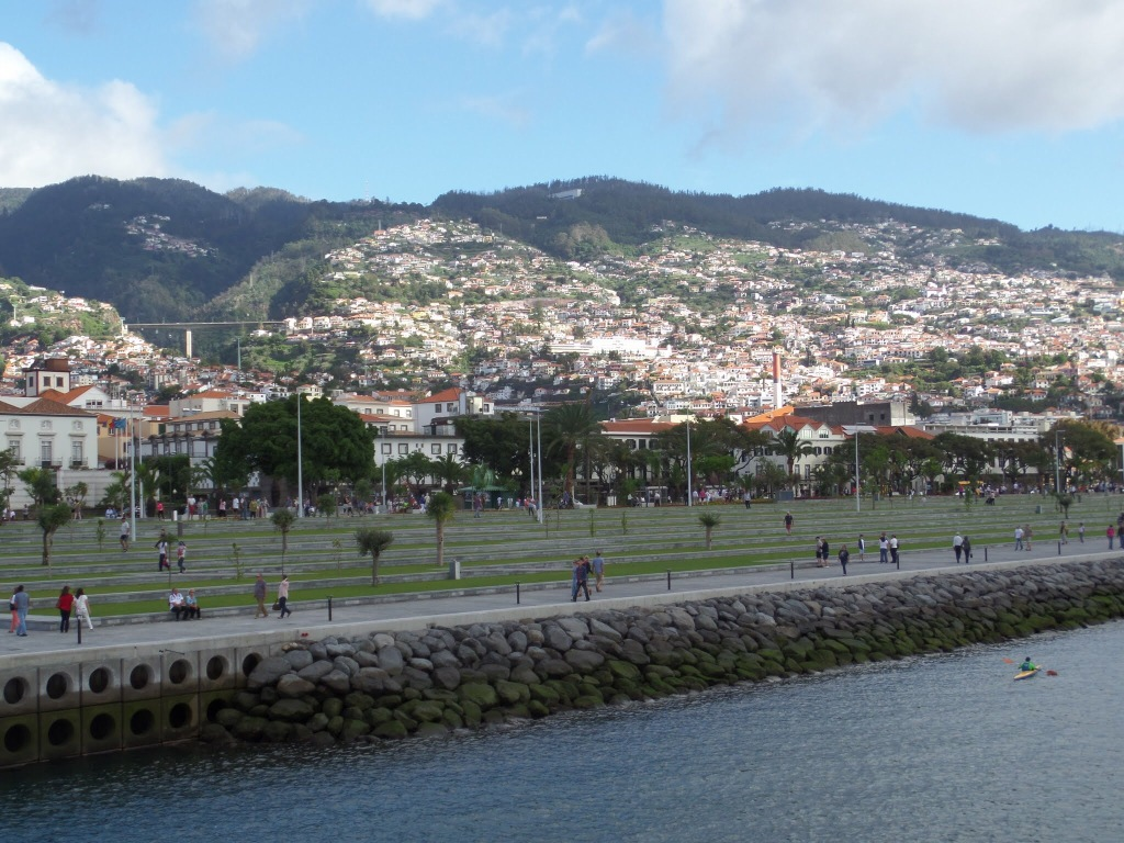 Funchal waterfront, Madeira