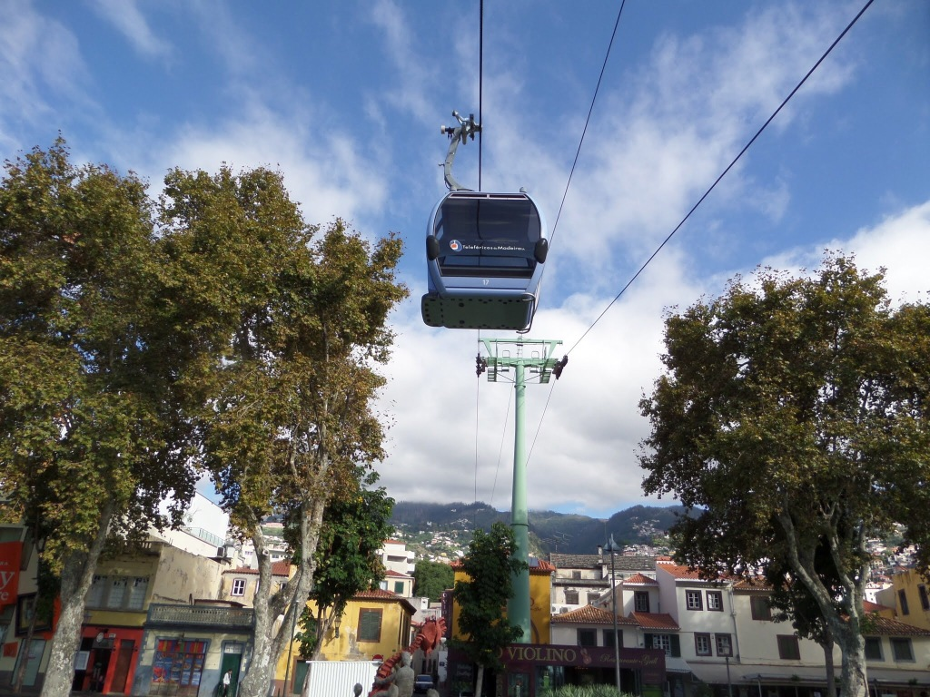 Monte cable car, Funchal
