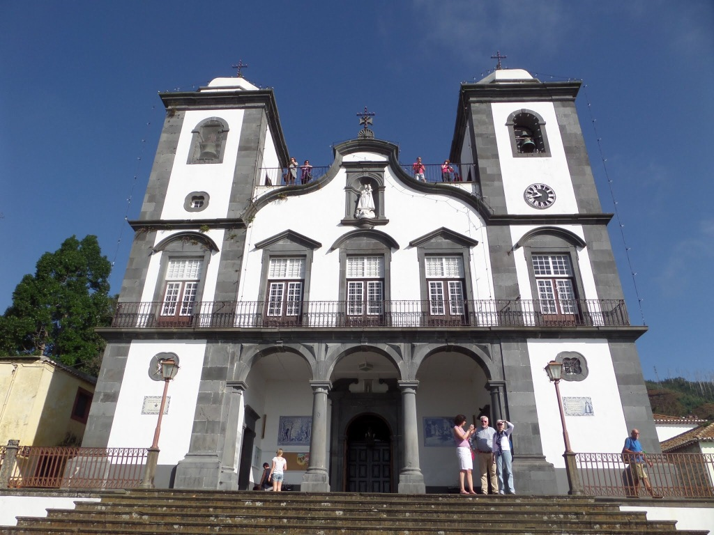 The church at Monte, Funchal