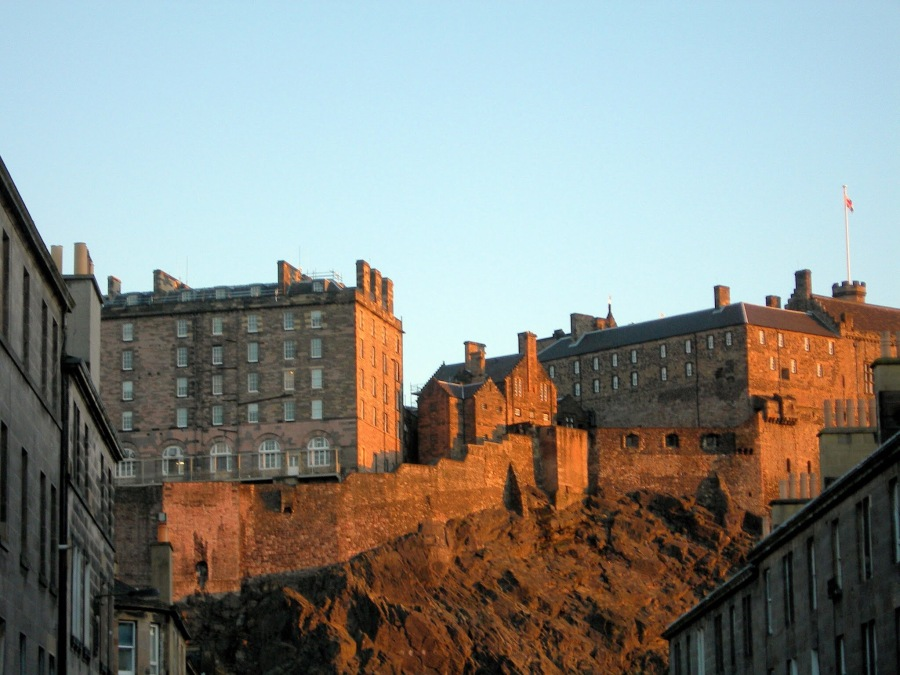 Edinburgh Castle Wall