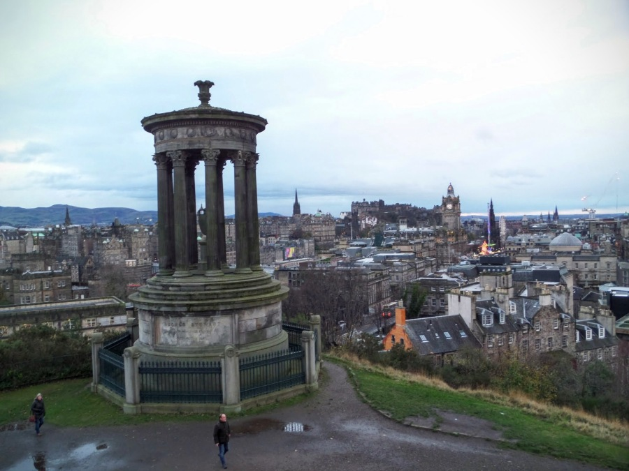 View from Carlton Hill, Edinburgh