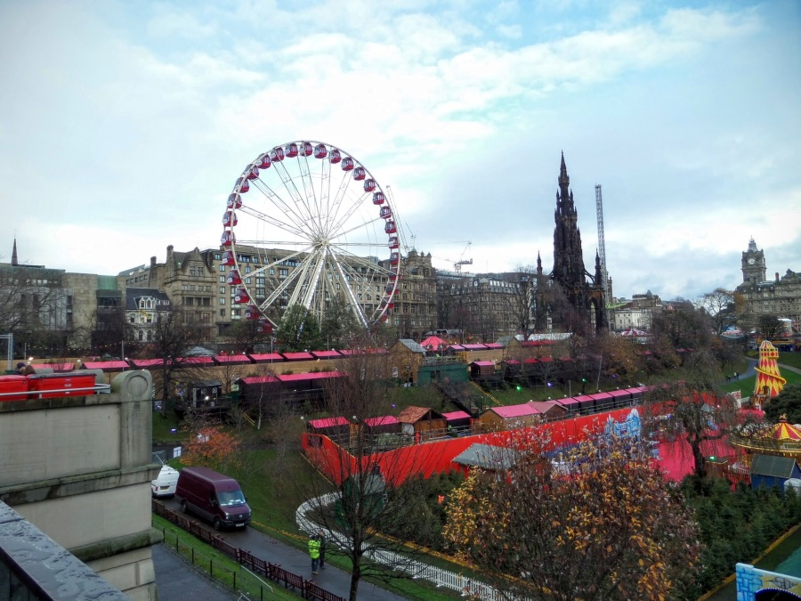 Edinburgh's Christmas market