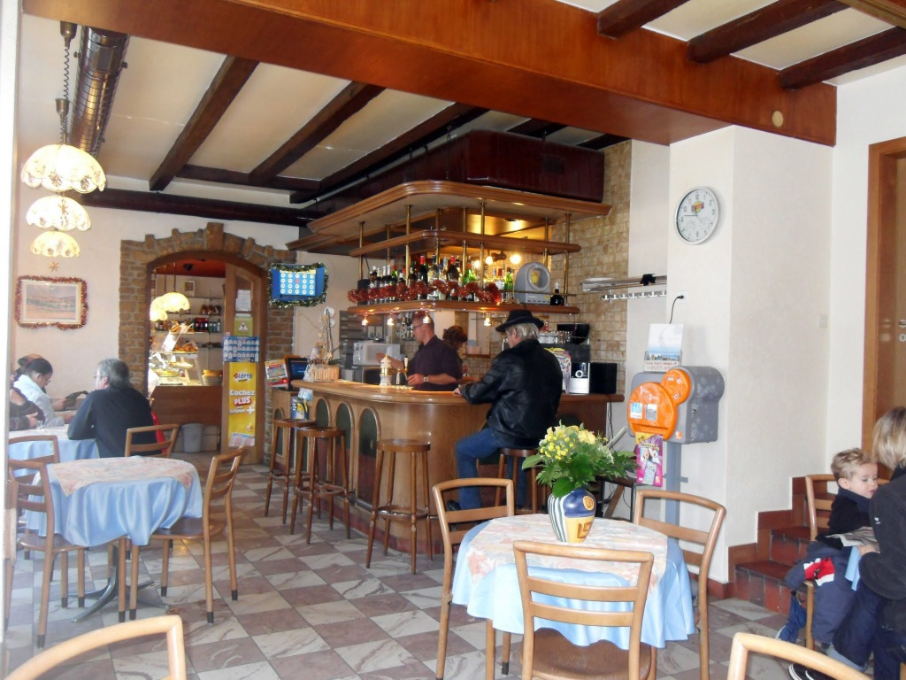 Cafe, St. Cerque, France