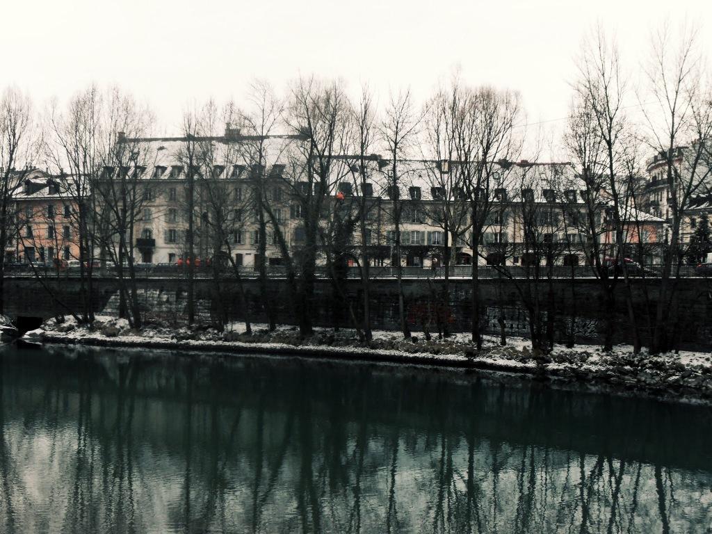 Lake Geneva in winter