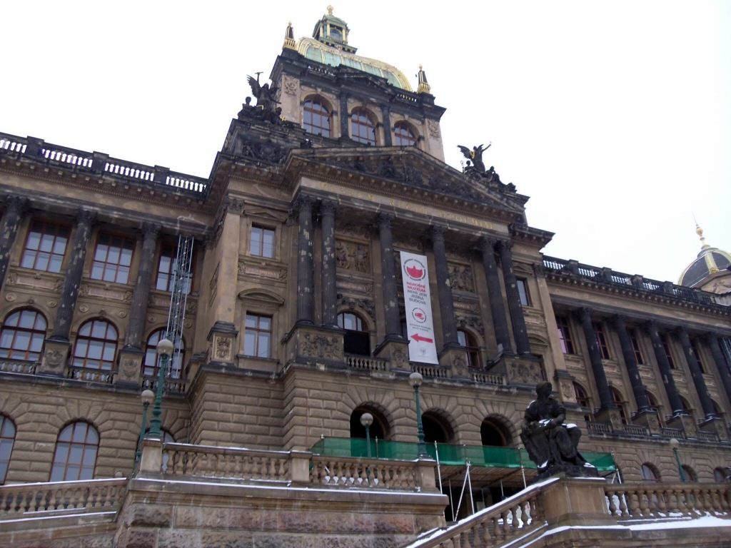 The National Museum, Wenceslas Square, Prague