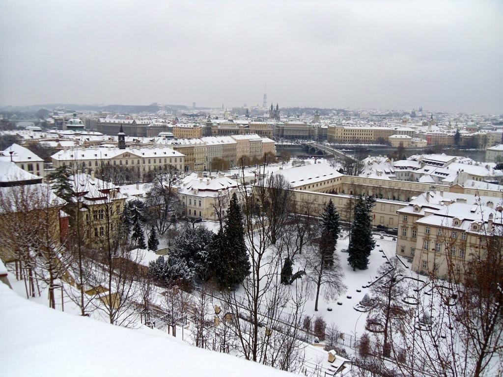 Prague castle views