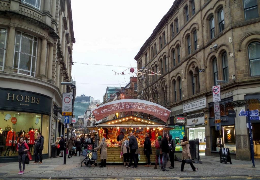Manchester Christmas Market Stalls