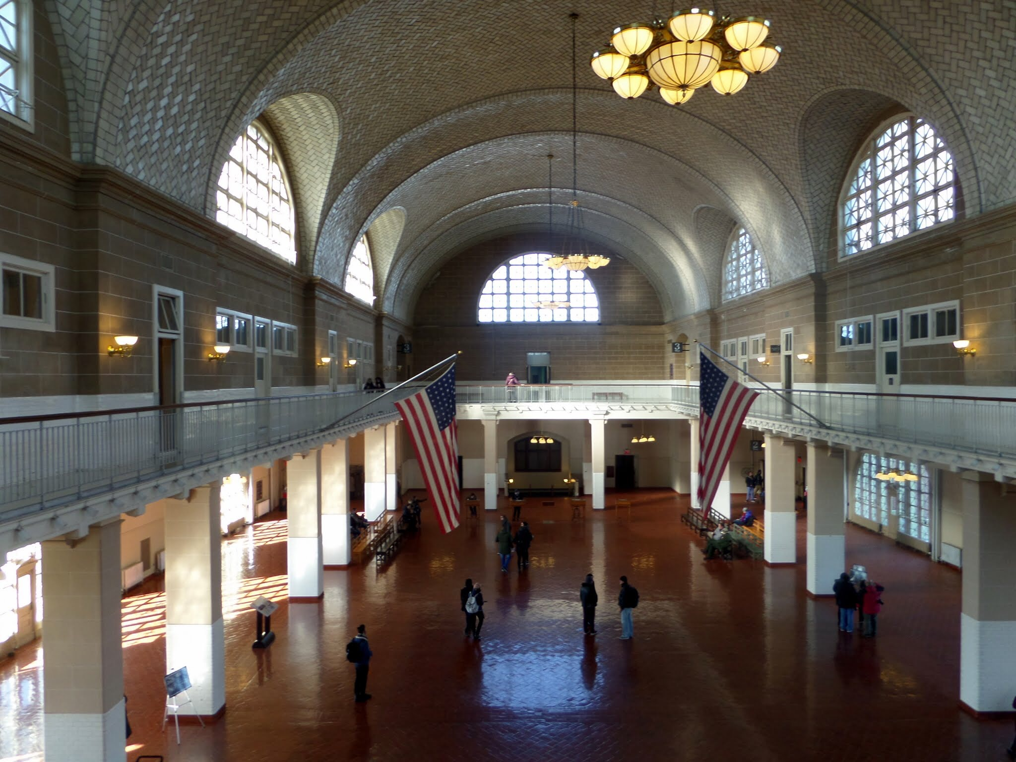 The Reception Room, Ellis Island Immigration Museum
