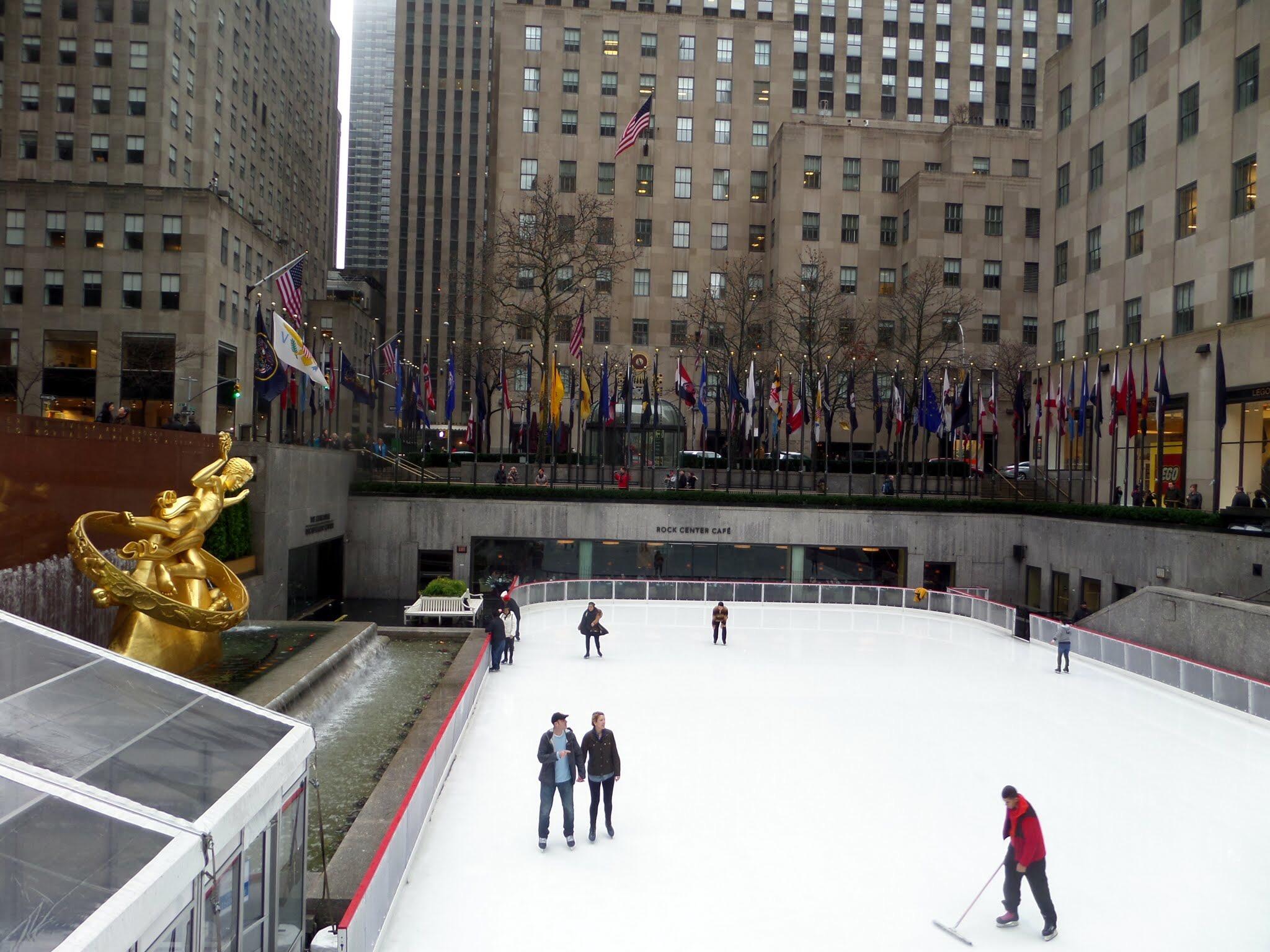 Ice Rink, Rockefeller Centre