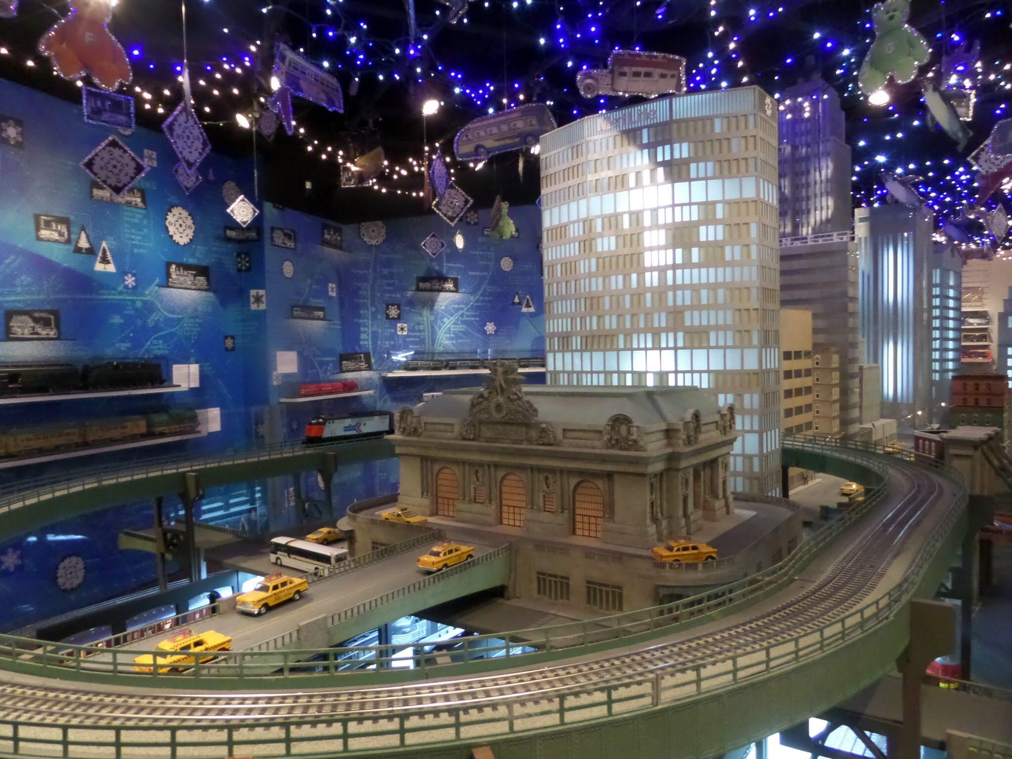 Transit Museum Christmas Model Rail Exhibition New York City