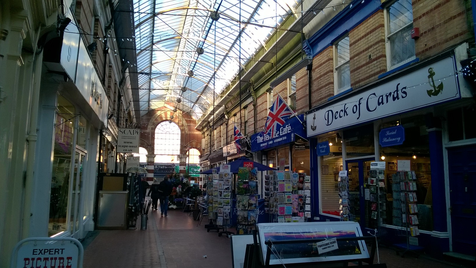 Victorian arcade, Westbourne, Bournemouth