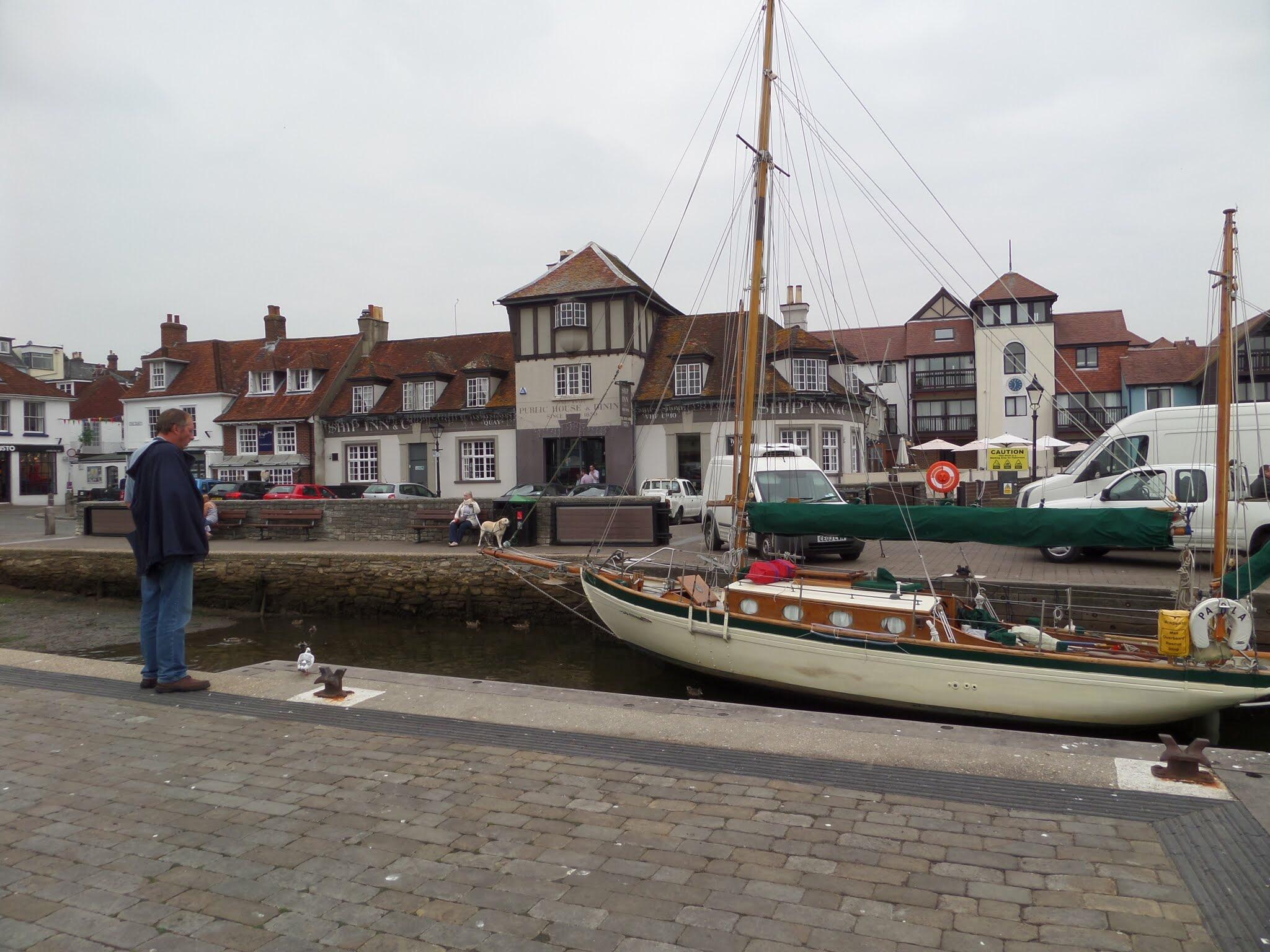 Lymington Quay