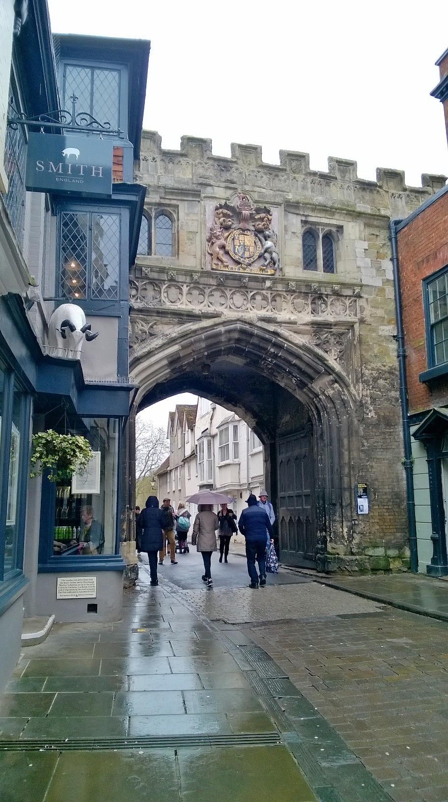 Salisbury Cathedral archway