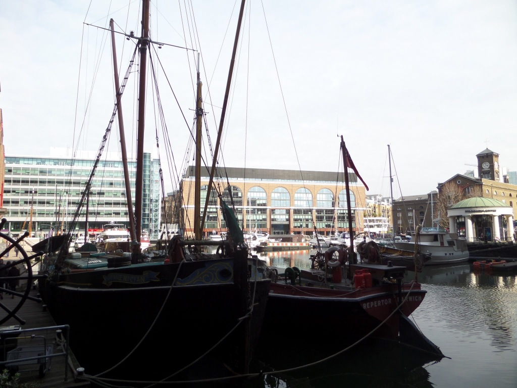 St. Katharine's Dock London