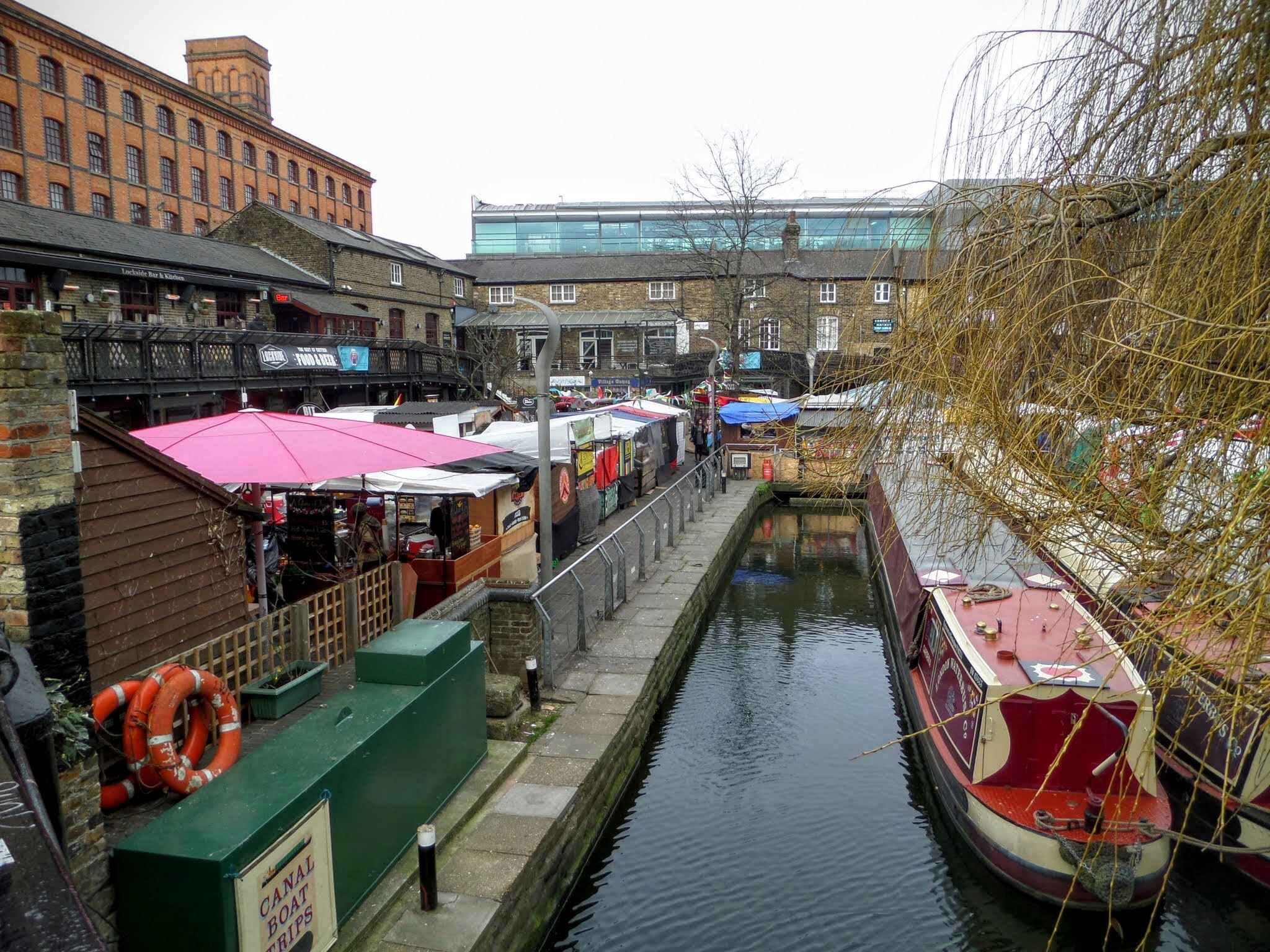 Camden Lock Food Court