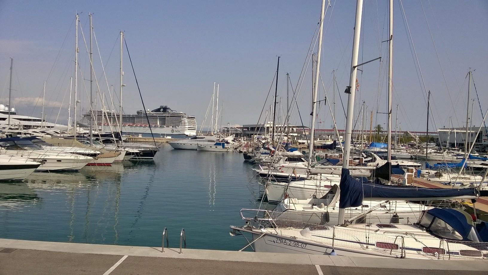 Paseo Maritim, Palma