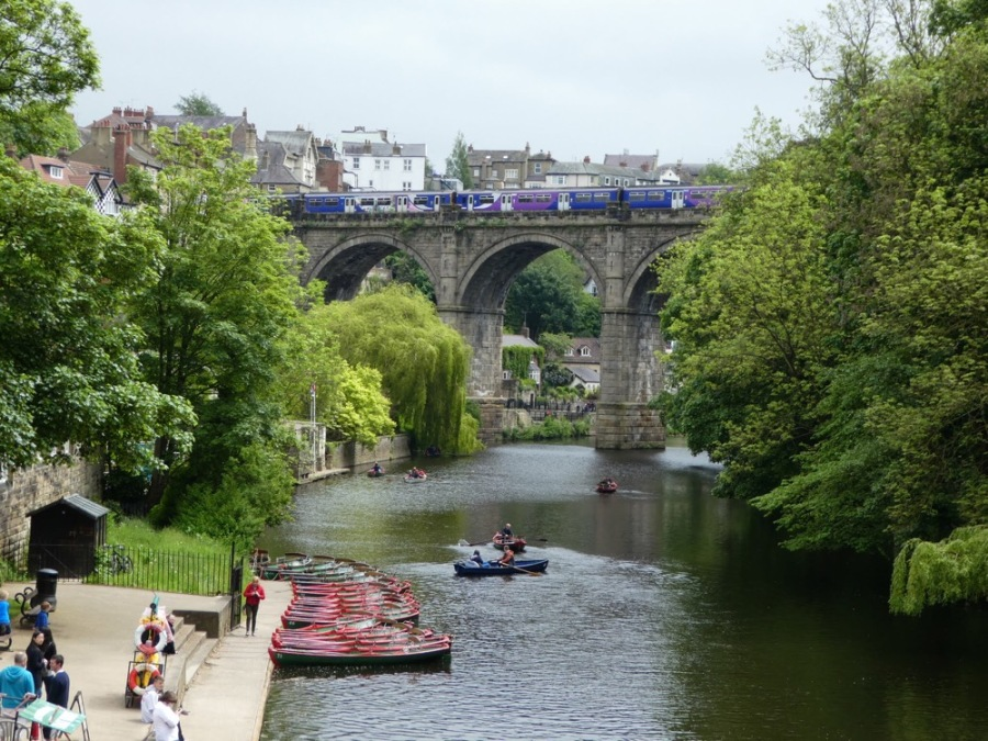 Knaresborough Viaduct over the River Nidd