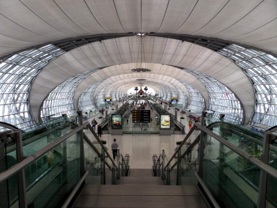Inside Bangkok's Suvarnabhumi airport
