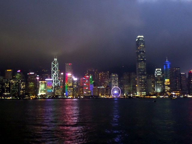 Victoria Harbour from the Star Ferry, Hong Kong